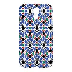 Background Pattern Geometric Samsung Galaxy S4 I9500/i9505 Hardshell Case