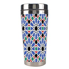 Background Pattern Geometric Stainless Steel Travel Tumblers