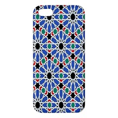 Background Pattern Geometric Iphone 5s/ Se Premium Hardshell Case