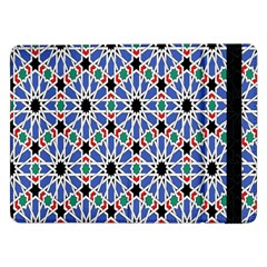 Background Pattern Geometric Samsung Galaxy Tab Pro 12 2  Flip Case