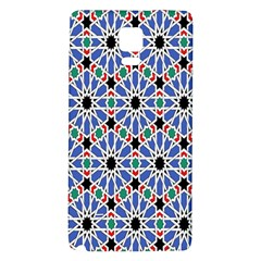 Background Pattern Geometric Galaxy Note 4 Back Case