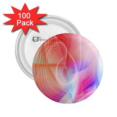 Background Nebulous Fog Rings 2 25  Buttons (100 Pack)
