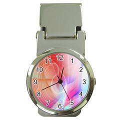 Background Nebulous Fog Rings Money Clip Watches