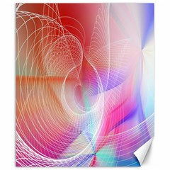 Background Nebulous Fog Rings Canvas 20  X 24