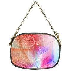 Background Nebulous Fog Rings Chain Purses (two Sides)