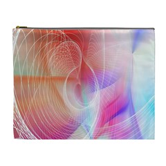 Background Nebulous Fog Rings Cosmetic Bag (XL)