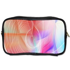 Background Nebulous Fog Rings Toiletries Bags 2 Side