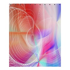 Background Nebulous Fog Rings Shower Curtain 60  X 72  (medium)