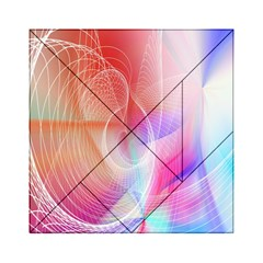 Background Nebulous Fog Rings Acrylic Tangram Puzzle (6  X 6 )