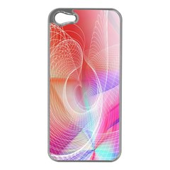Background Nebulous Fog Rings Apple Iphone 5 Case (silver)