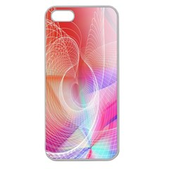 Background Nebulous Fog Rings Apple Seamless Iphone 5 Case (clear)