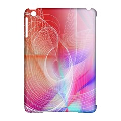 Background Nebulous Fog Rings Apple Ipad Mini Hardshell Case (compatible With Smart Cover)