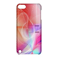 Background Nebulous Fog Rings Apple Ipod Touch 5 Hardshell Case With Stand