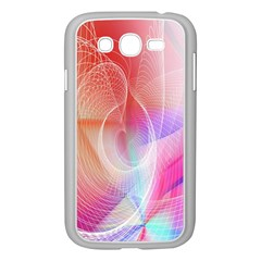 Background Nebulous Fog Rings Samsung Galaxy Grand Duos I9082 Case (white)