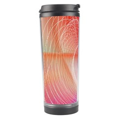 Background Nebulous Fog Rings Travel Tumbler