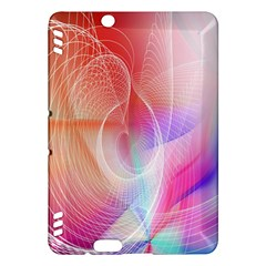 Background Nebulous Fog Rings Kindle Fire Hdx Hardshell Case