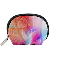 Background Nebulous Fog Rings Accessory Pouches (small)