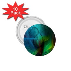 Background Nebulous Fog Rings 1 75  Buttons (10 Pack)