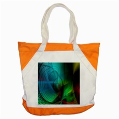 Background Nebulous Fog Rings Accent Tote Bag