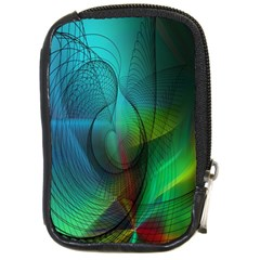 Background Nebulous Fog Rings Compact Camera Cases