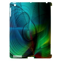 Background Nebulous Fog Rings Apple Ipad 3/4 Hardshell Case (compatible With Smart Cover)