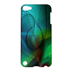 Background Nebulous Fog Rings Apple iPod Touch 5 Hardshell Case