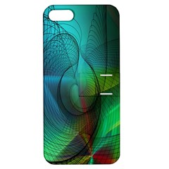 Background Nebulous Fog Rings Apple Iphone 5 Hardshell Case With Stand