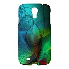 Background Nebulous Fog Rings Samsung Galaxy S4 I9500/i9505 Hardshell Case