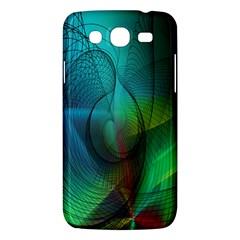 Background Nebulous Fog Rings Samsung Galaxy Mega 5 8 I9152 Hardshell Case