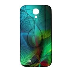 Background Nebulous Fog Rings Samsung Galaxy S4 I9500/i9505  Hardshell Back Case
