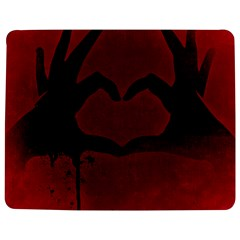 Dark Valentines Jigsaw Puzzle Photo Stand (Rectangular)