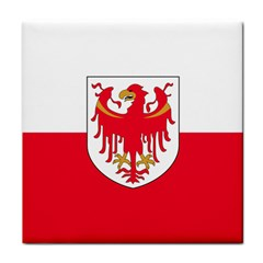 Flag of South Tyrol Tile Coasters