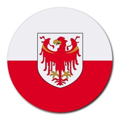 Flag of South Tyrol Round Mousepads