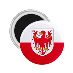 Flag of South Tyrol 2.25  Magnets