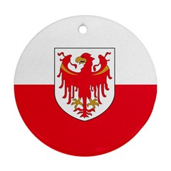Flag of South Tyrol Ornament (Round)