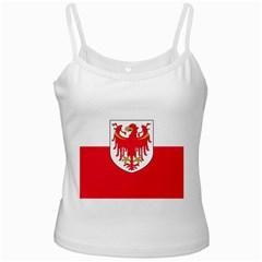 Flag of South Tyrol White Spaghetti Tank