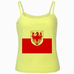 Flag of South Tyrol Yellow Spaghetti Tank