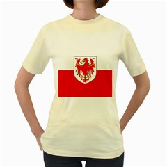 Flag of South Tyrol Women s Yellow T-Shirt