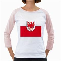 Flag of South Tyrol Girly Raglans
