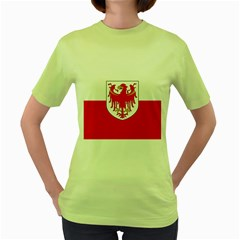 Flag of South Tyrol Women s Green T-Shirt