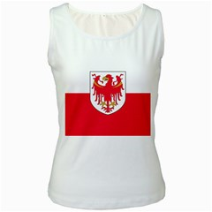 Flag of South Tyrol Women s White Tank Top