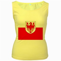 Flag of South Tyrol Women s Yellow Tank Top