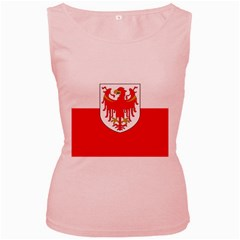 Flag of South Tyrol Women s Pink Tank Top