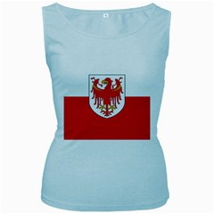 Flag of South Tyrol Women s Baby Blue Tank Top