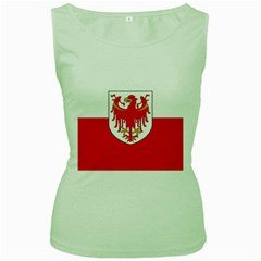 Flag of South Tyrol Women s Green Tank Top