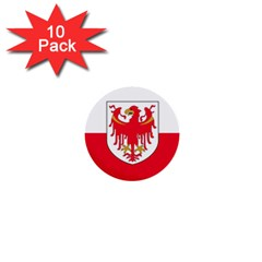 Flag of South Tyrol 1  Mini Buttons (10 pack)