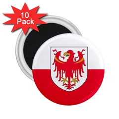 Flag of South Tyrol 2.25  Magnets (10 pack)