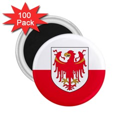 Flag of South Tyrol 2.25  Magnets (100 pack)