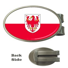 Flag of South Tyrol Money Clips (Oval)