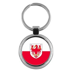 Flag of South Tyrol Key Chains (Round)